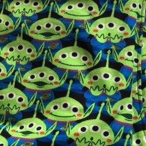 Tc2 leggings toy story alien Lularoe nwot